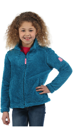 Regatta Foxton Fleece Girls Petrol Blue